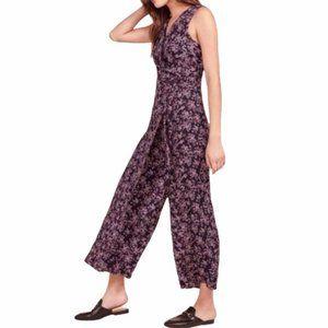 NWT BB Dakota swish swish floral wrap jumpsuit